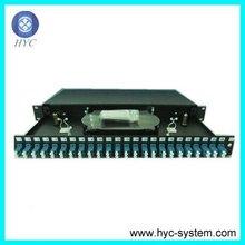 12/24 port rack mount 19 fiber optic odf