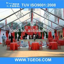 transparent clear span party celebration tent