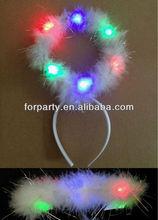 LHW-0063S Angel halo headband with LED light