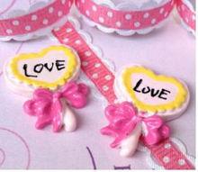 Cute Puff Lollipop Cabochon