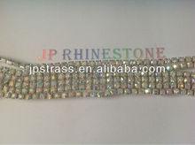 crystal rhinestone cup chain