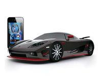 1:43 iPhone Toy Diecast RC Car