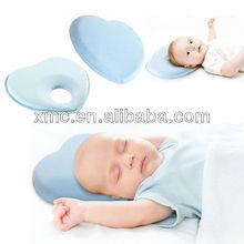 Heart-shape baby sleep head support cushion
