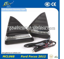 12V High power Super bright DRL Led daytime running light for Ford Focus 2012