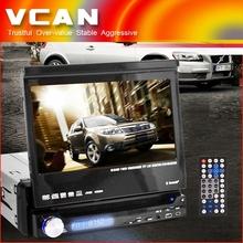 "GPS-8008 7"" HD LCD In Dash Car TV GPS DVD Player Ipod USB SD handheld gps navigator"