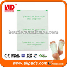 China Effective ingredients from plant extract Foot patch