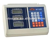 electronic platform scale indicator (solar energy) 2012 new