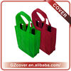 2013 guangzhou non woven wine bags cheap 4-bottles canvas bag