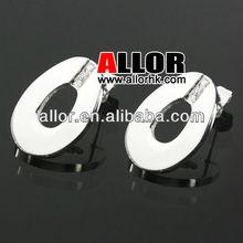 Fashion CNC Stones Ladies Earrings Designs Pictures
