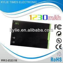 J-M1 JM1 battery for Blackberry 9900 1230mAh accept Paypal 1 year warranty