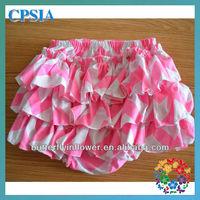 Pink newborn baby clothes baby underwear for girls baby ruffle underwear