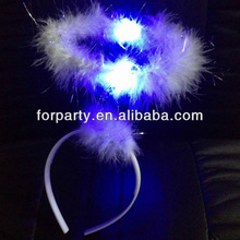 LHW-082B Halo headband with blue LED light
