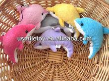 2013 new design plush toy dolphin wholesale