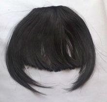 remy human hair clip-on bang