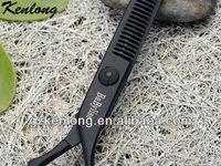 2013 Professional salon barber brand hair crocodile scissors