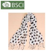 uniform 100% cashmere scarf black