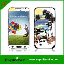 for Samsung galaxy S4 skin / Vinyl sticker for S4