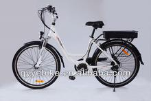 "high quality 26"" 250W centre motor eec electric vehicle for women"