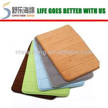 anti-slip memory foam shower carpet bath mat