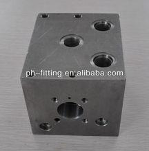 Parallel circuit normal flow Hydraulic block valve