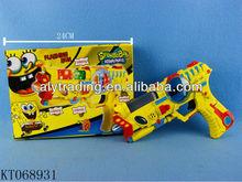 Shantou Aly Newest Plastic B/O Flashing 8 Sound Gun Toy