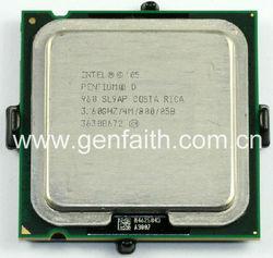 Intel Pentium D Processor 960 (4M Cache, 3.60 GHz, 800 MHz FSB SL9AP/SL9K7)
