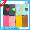Brand New Leather Purse Wallet Case for iPhone4 4S With Credit Card Slot