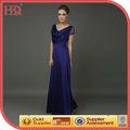 2013 alibaba novo design elegante longo do laço de cetim vestido da mãe da noiva
