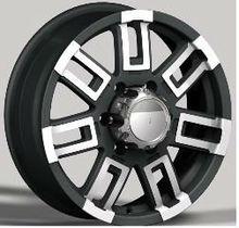 factory supply car alloy wheel with matt black