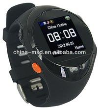 GPS watch Support Google Map link outdoor+LBS indoor
