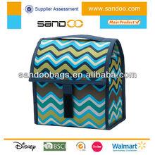 Wholesale new products men foldable lunch bag, men cooler bag