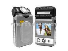 """2.0"""" TFT-LCD screen 8x digital zoom 5.0 Mega pixels digital car camcorder"""