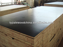 12mmX1220X2440, WBP/melamine glue, brown film faced plywood for construction from linyi factory