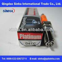 colour ceramic d8tc motorcycle plug spark