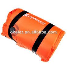 Orange Camping Sleeping Mat For Sleeping Bag, Waterproof,Dampproof Hiking Mat