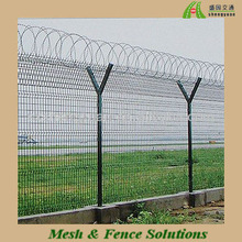 Artistic And Practical Airport Fence/Welded Fence/Galvanized Fence For Promotion