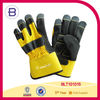 Quality Synthetic Leather Rubber Fingertips Reinforced Work Gloves