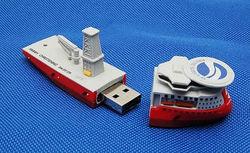 cruise ship shaped usb 2.0, novelty ship usb drive pen drive 4gb
