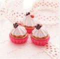 miniatura de chantilly de chocolate torta