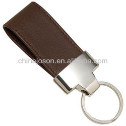 great business gifts leather wholesale keyring parts
