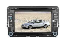 7 inch 2 din VW Golf 6 DVD Gps with 3G