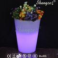 Sz-g3835f-b80 retangular de plástico vasos de flores