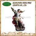 Figura da resina, resina anjo escultura para decoração de casa
