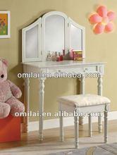 2013 hot saled bedroom furniture dress table