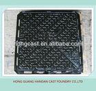 MC039 EN124 square heavy duty ductile iron manhole cover