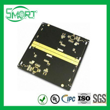 HOT!!smart-bes pcb plates, PCB with 1.6mm Board Thickness, Rogers Material and Immersion Gold