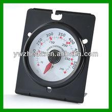 Metal BBQ bimetal non-stick oven thermometer