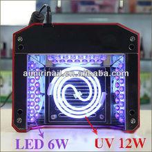 18W CCFL LED Nail Lamp Cold Cathode nail CCFL UV Lamp LED CCFL UV nail lamp