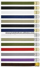Colorful POLYSTER del ejército correa de la tela militar YJ-GH202