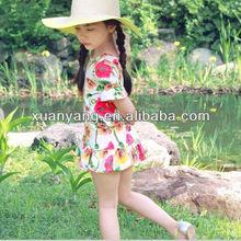 nueva llegada de la princesa blanco casual cenicienta flor vestidos para niñas
